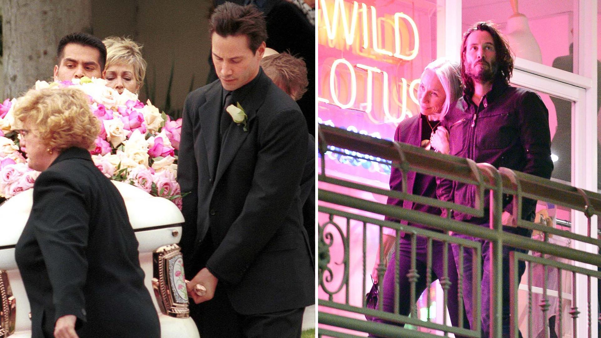 Keanu Reeves 18 lat temu pochował swoją byłą dziewczynę, która urodziła ich martwe dziecko