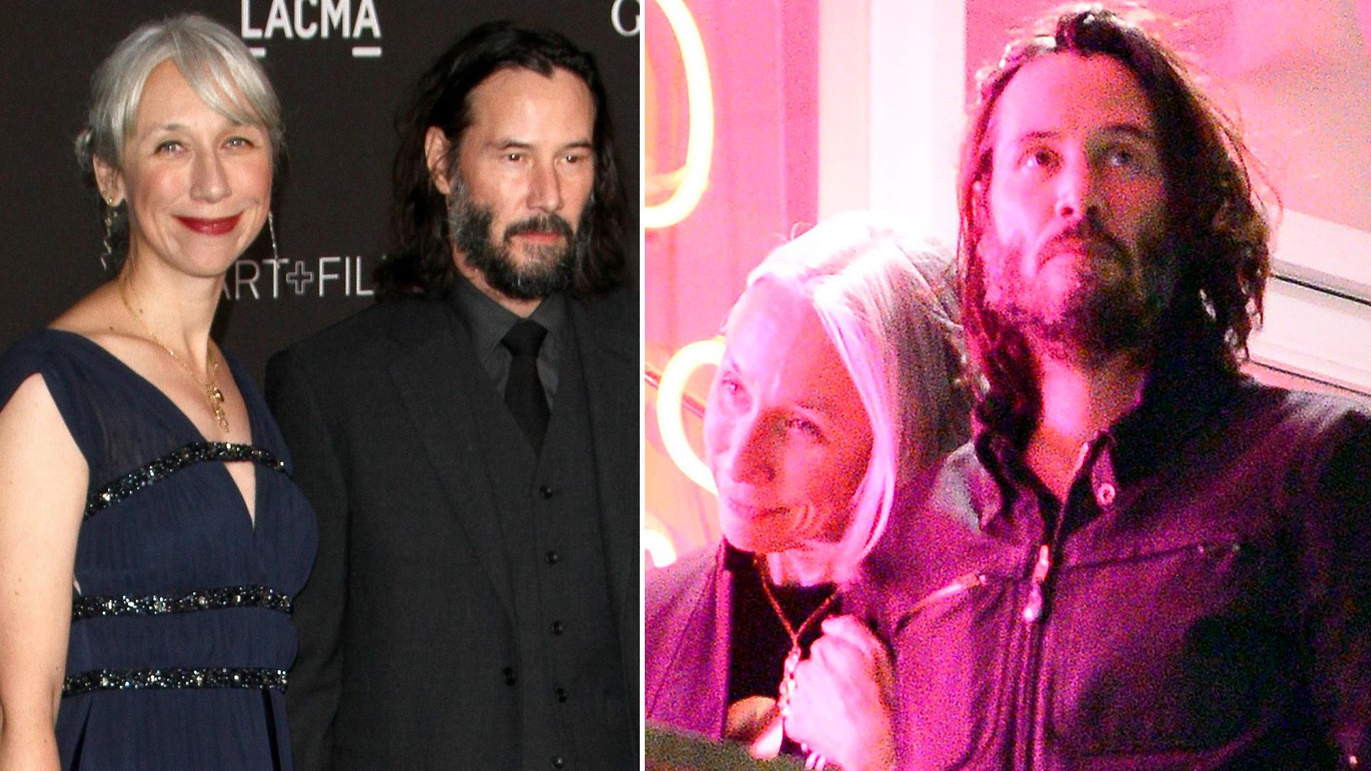 Więcej szczegółów na temat związku Keanu Reeves'a i Alexandry Grant