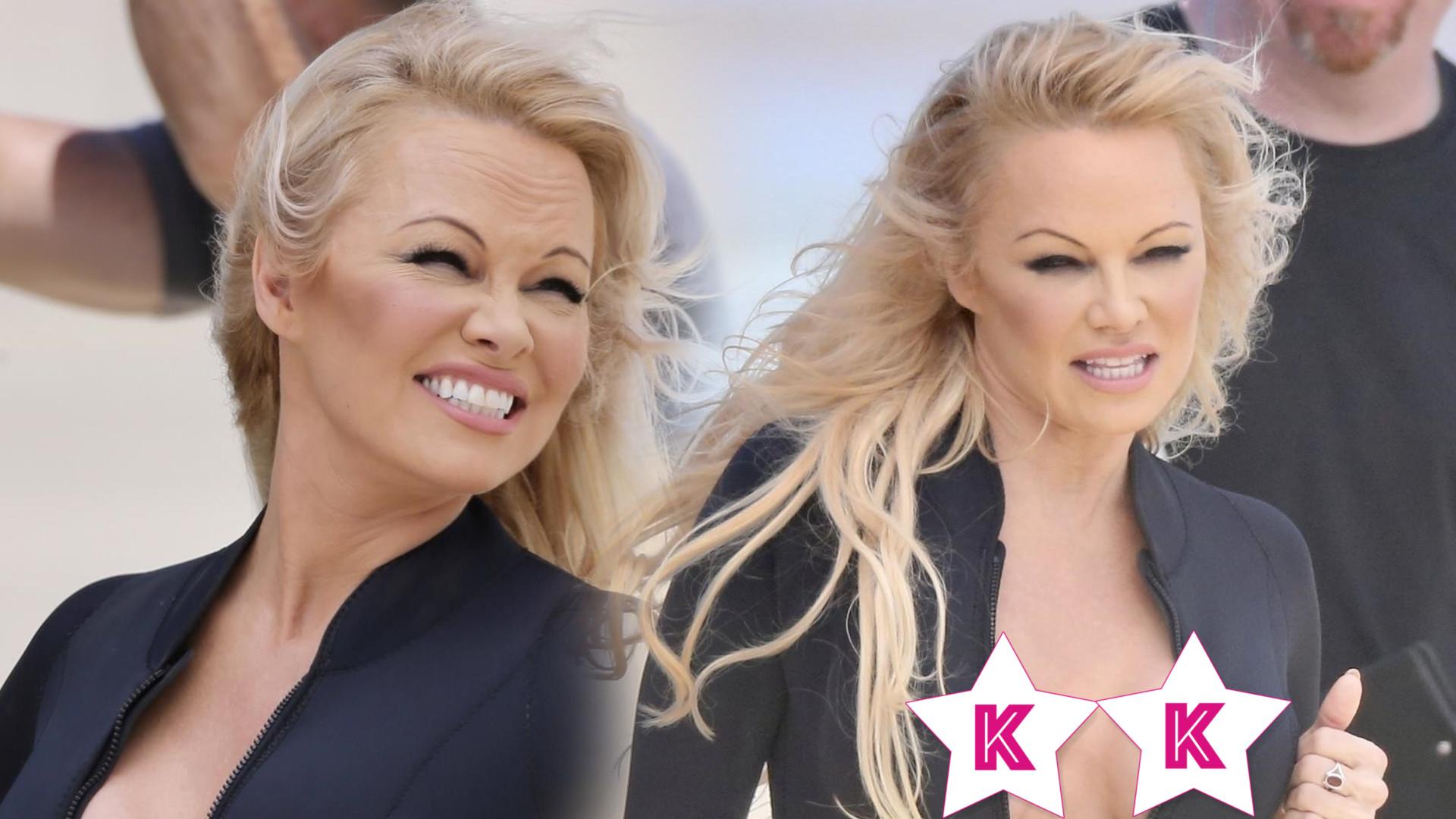 52-letnia Pamela Anderson ma buzię jak 30-latka! A jak wygląda figura byłej modelki Playboya? Sami zobaczcie! (ZDJĘCIA)