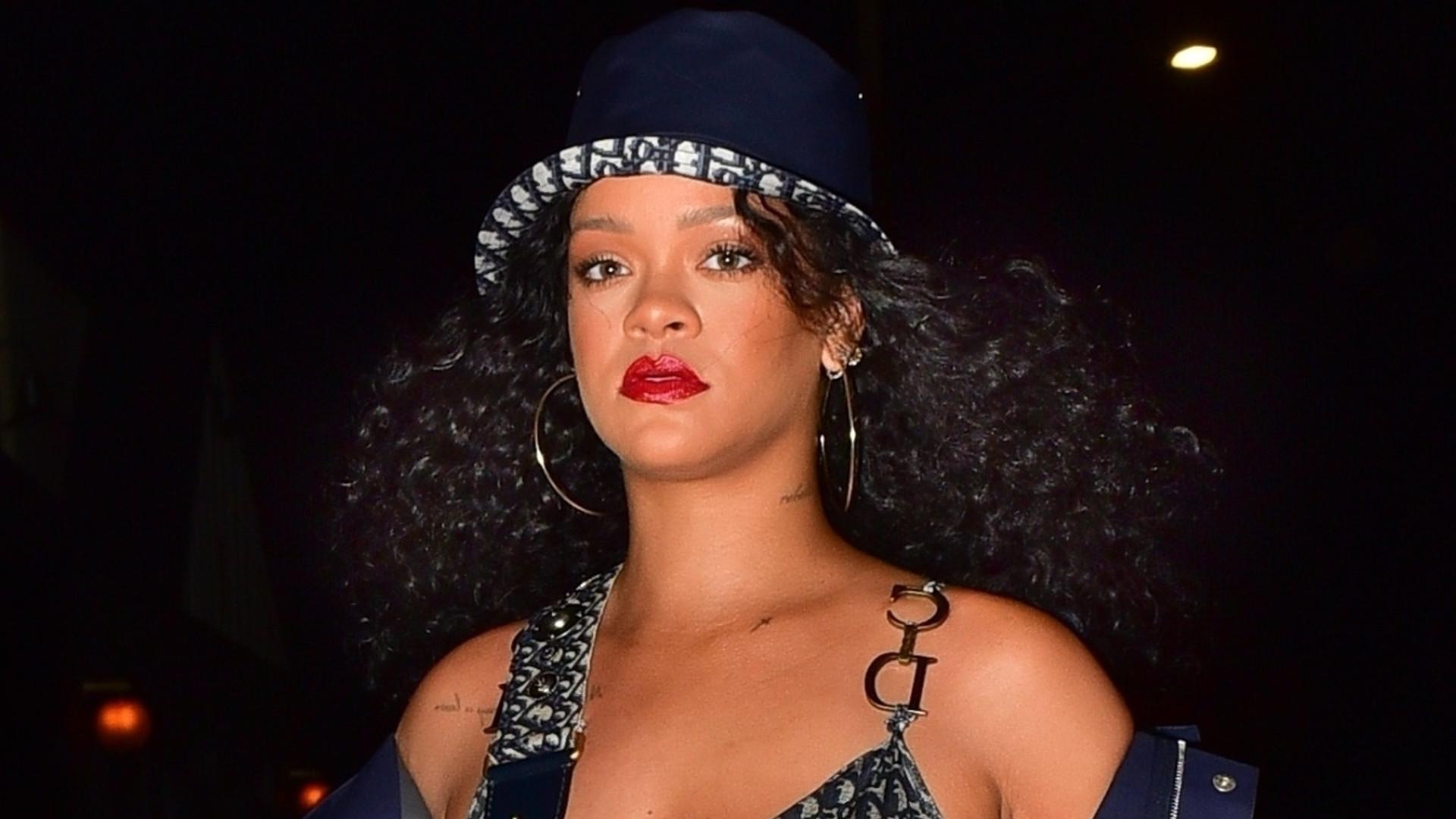 Rihanna cała w rzeczach od Diora – luksusowo czy tandetnie? (ZDJĘCIA)