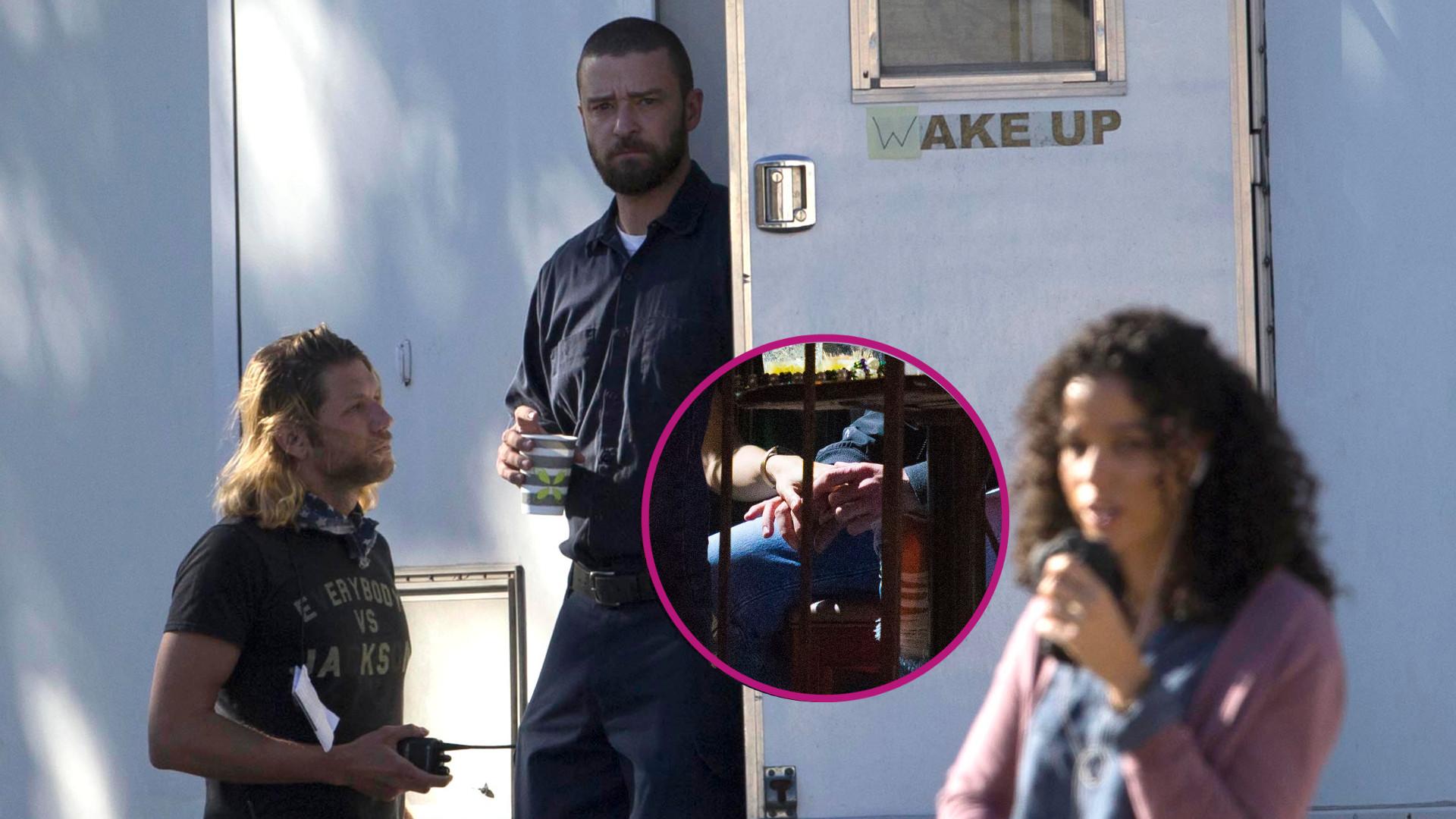 Jak zachowują się Justin Timberlake i Alisha Wainwright po balkonowej scenie na imprezie? (ZDJĘCIA)