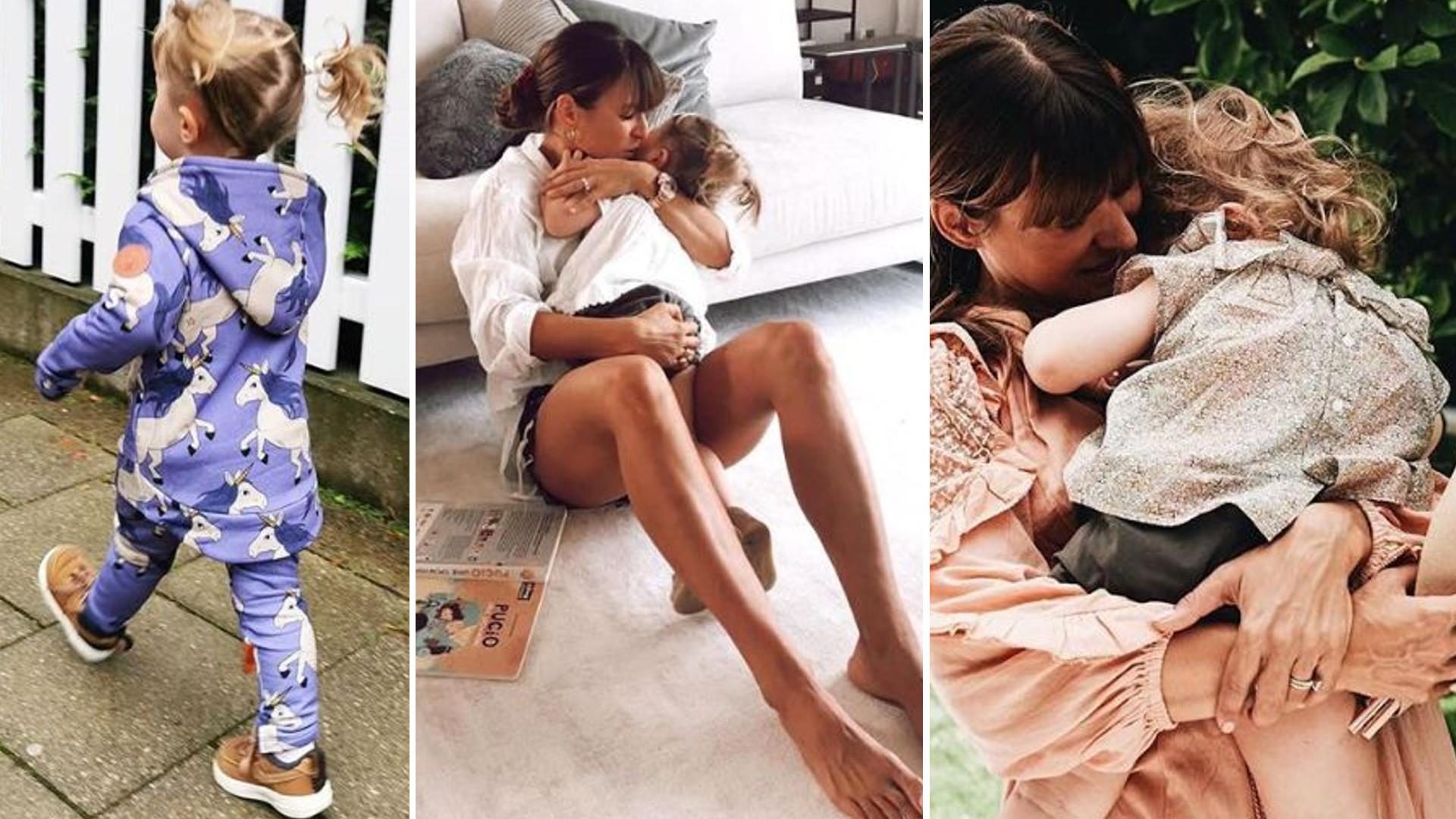 Klara Lewandowska z mamą i tatą na Instagramie Anny