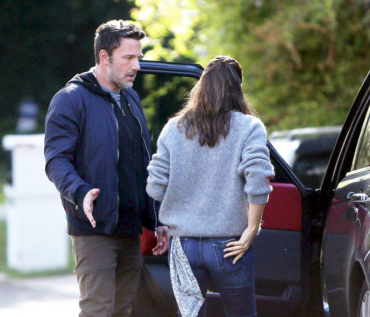 Ben Affleck i Jennifer Garner ostro POKŁÓCILI się na ulicy (ZDJĘCIA)
