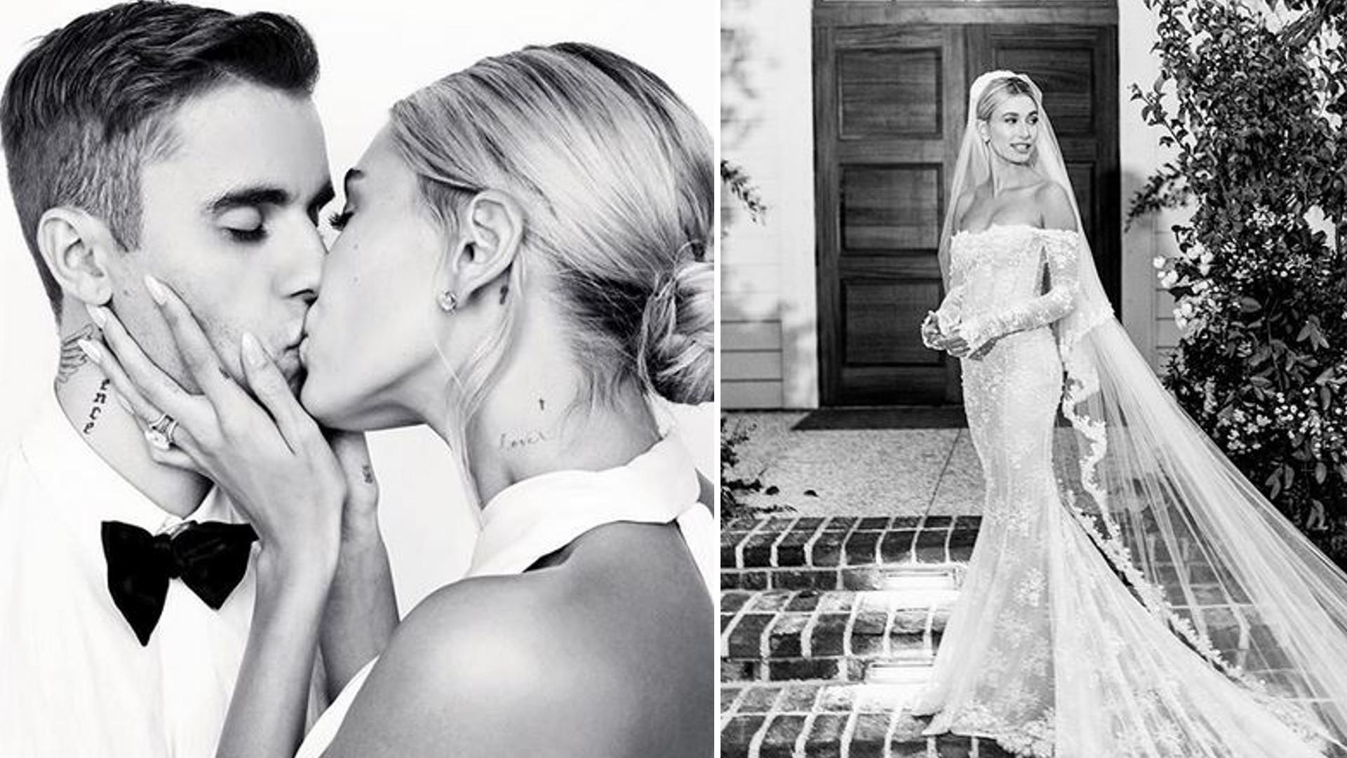 OMG! Justin Bieber prawie ZNISZCZYŁ kreację ślubną Hailey. Ten widok AŻ BOLI