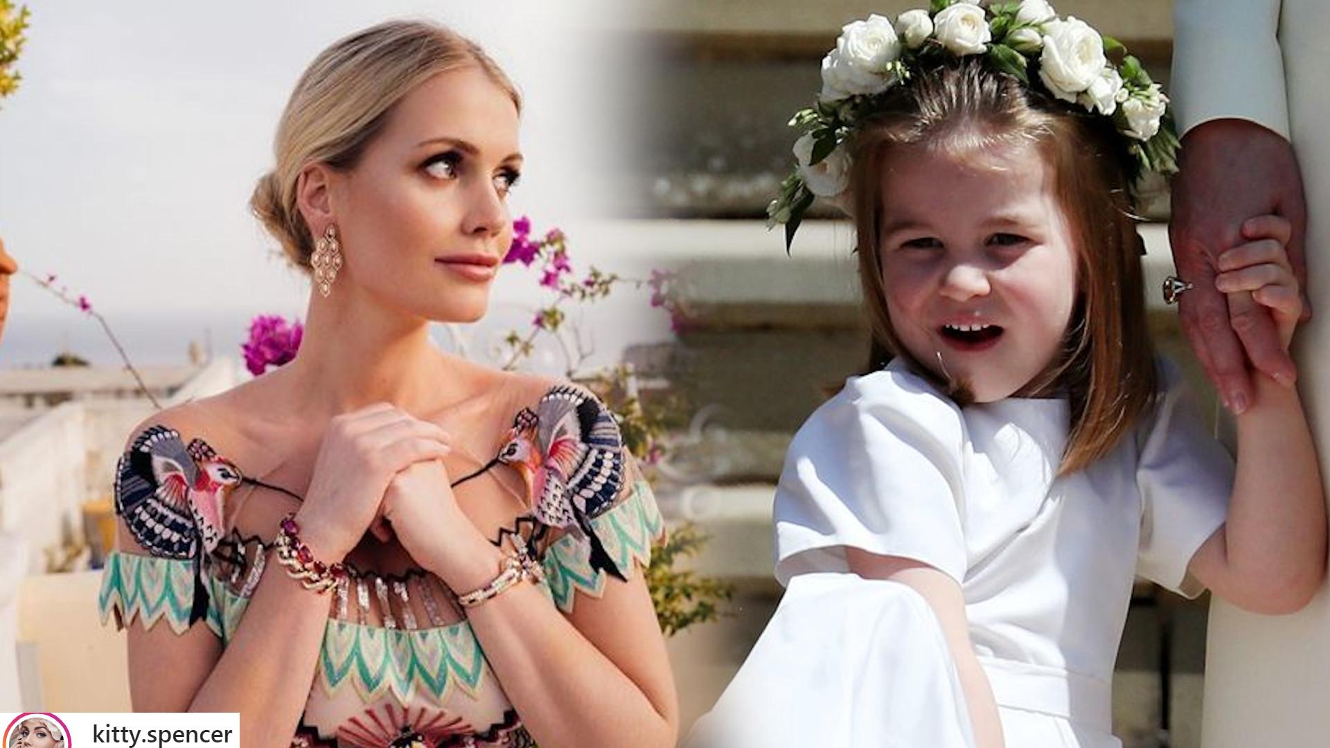 Co za podobieństwo! Księżniczka Charlotte wygląda, jak bratanica księżnej Diany w dzieciństwie