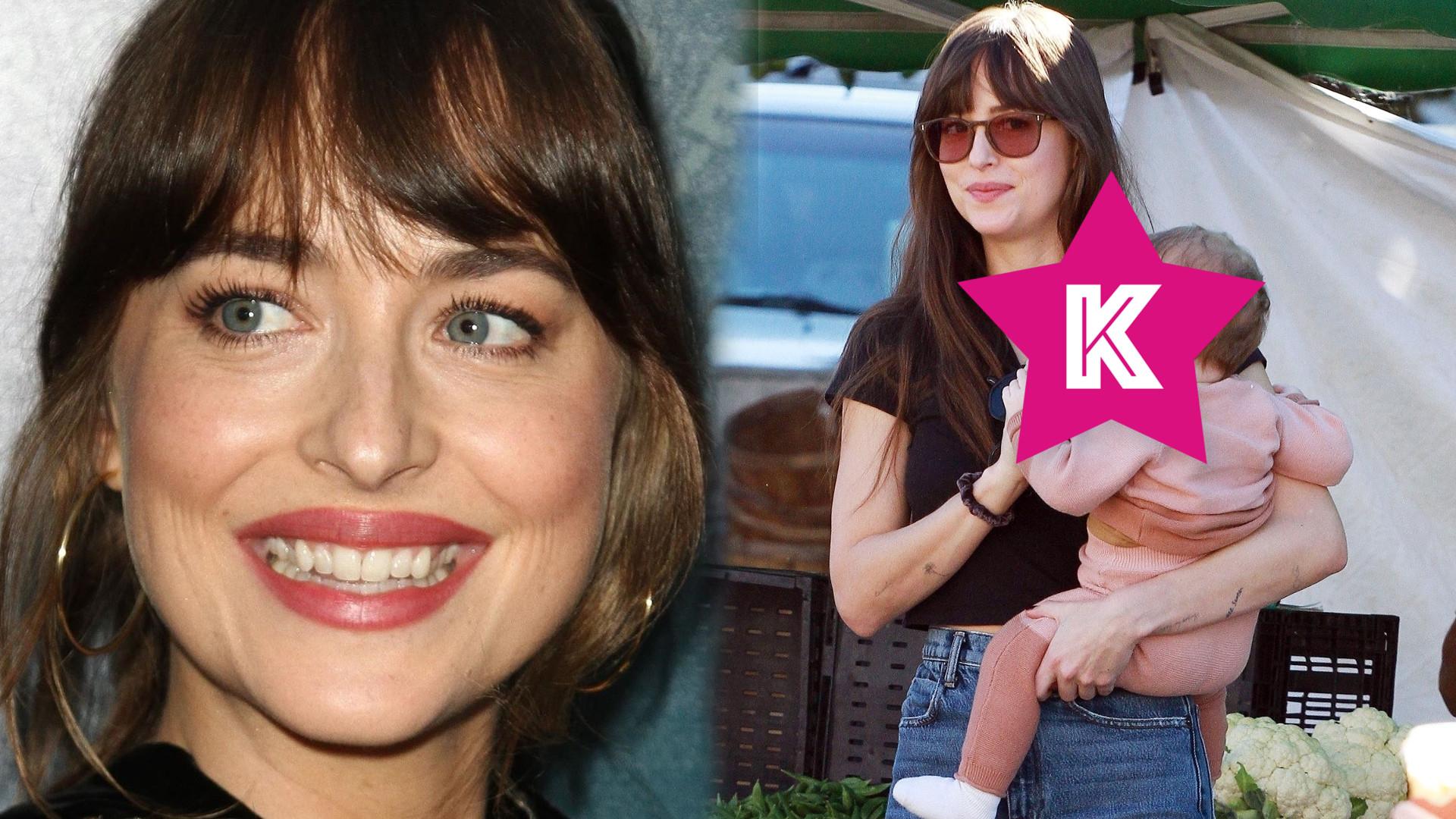 Dakota Johnson przygotowuje się do roli matki? Aktorka poczuła silny instynkt macierzyński!