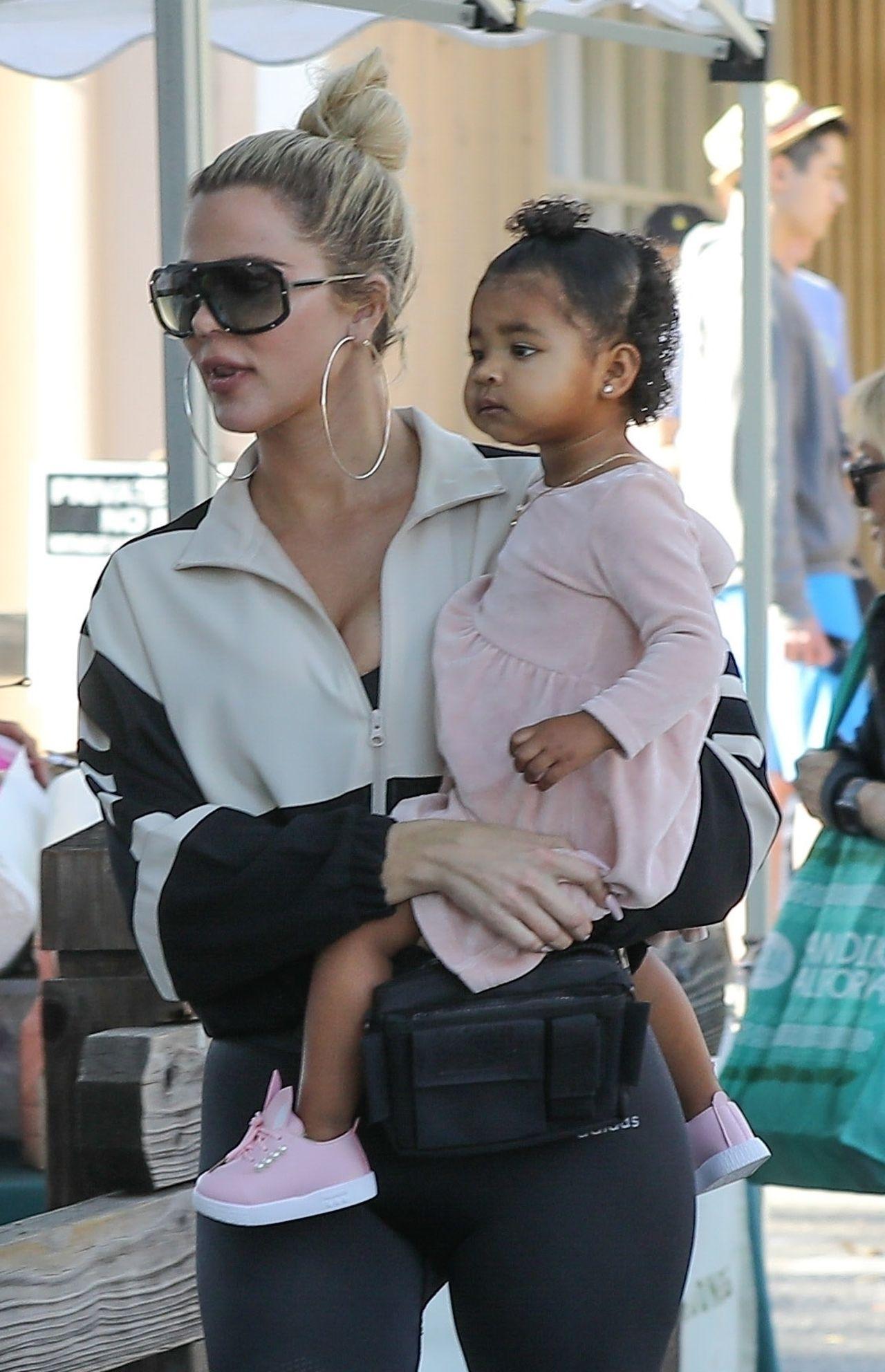 Khloe Kardashian z córką True