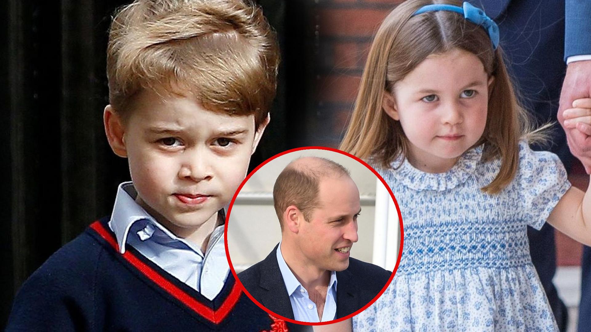 Książę George był NIEMIŁY wobec księżniczki Charlotte. Książę William zareagował