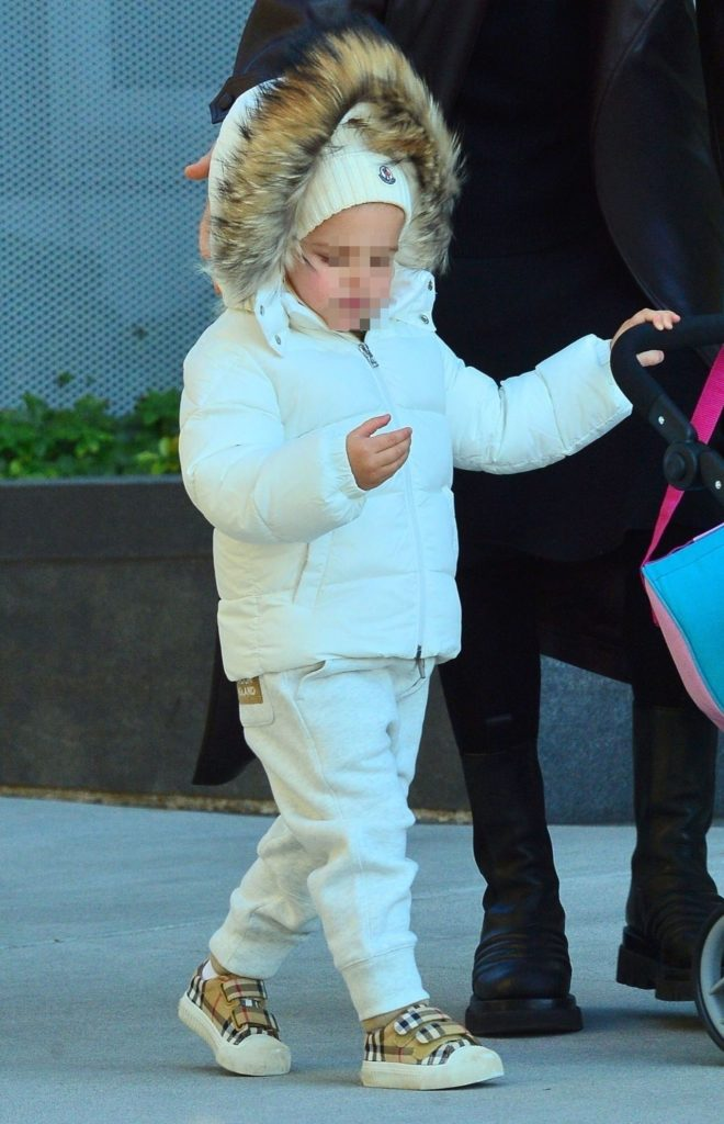 Irina Shayk z córką Leą