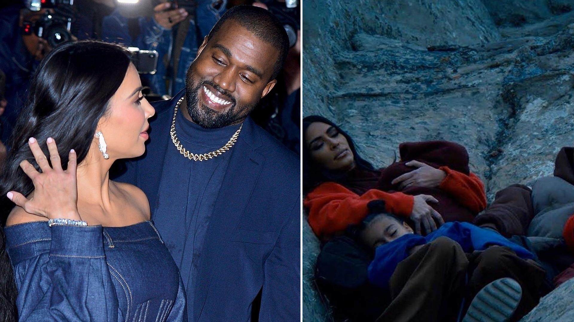 Kanye West w najnowszym teledysku pokazał rodzinę. North skradła całe show!
