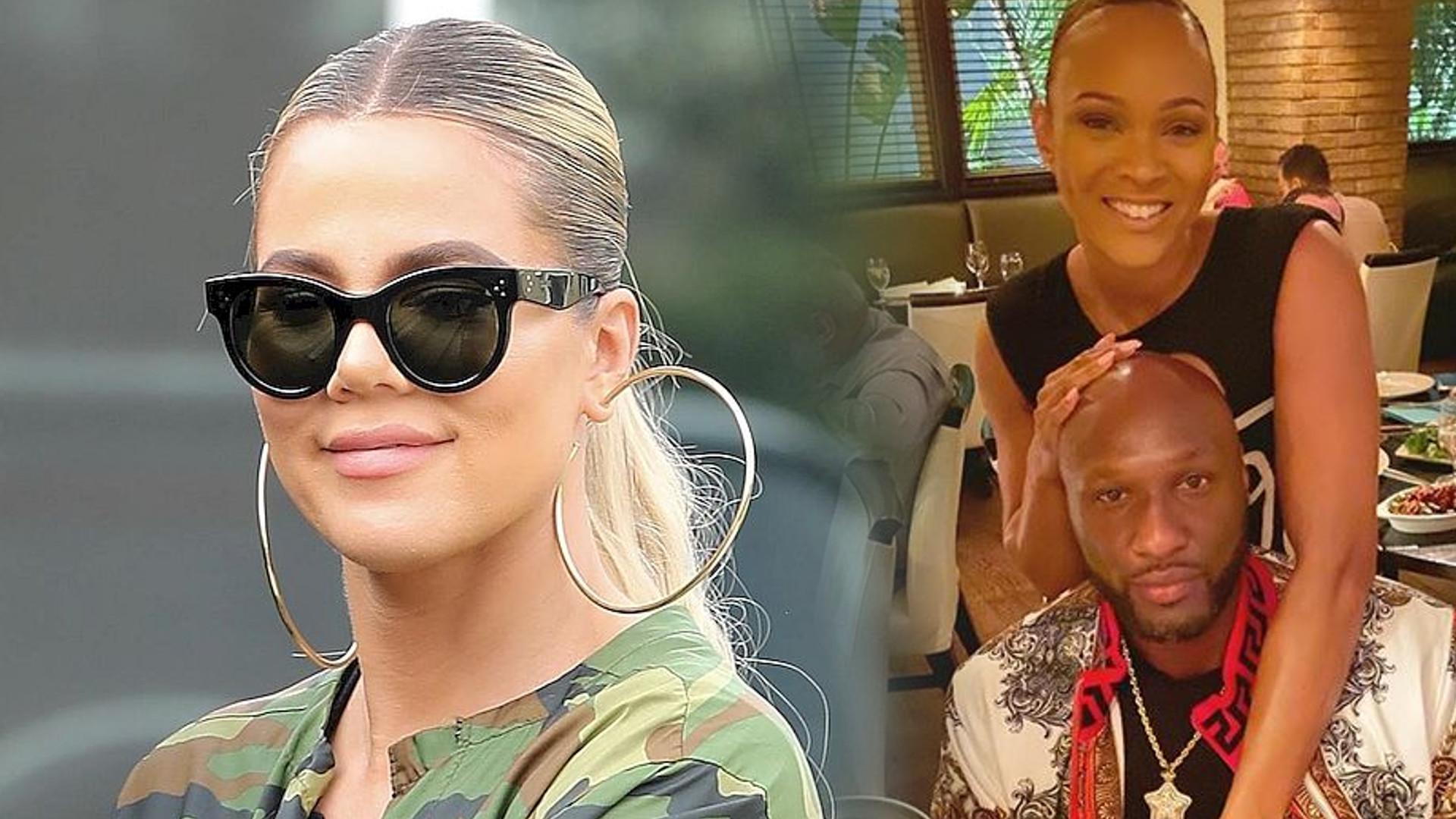 Jak Khloe Kardashian zareagowała na zaręczyny byłego męża, Lamara Odoma?