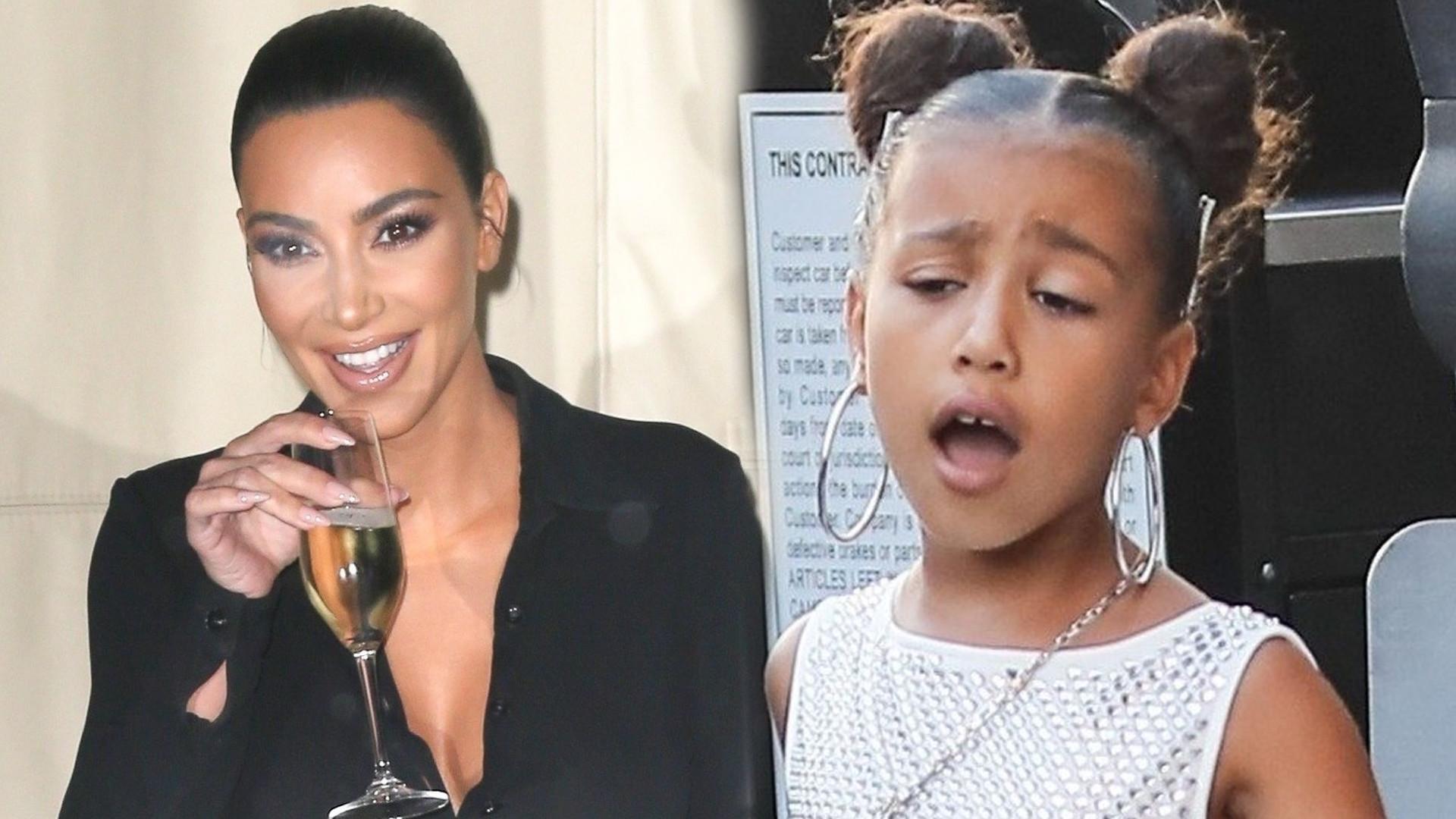 Kim Kardashian wierzy, że jej 6-letnia córka, North West przejmie rodzinny biznes
