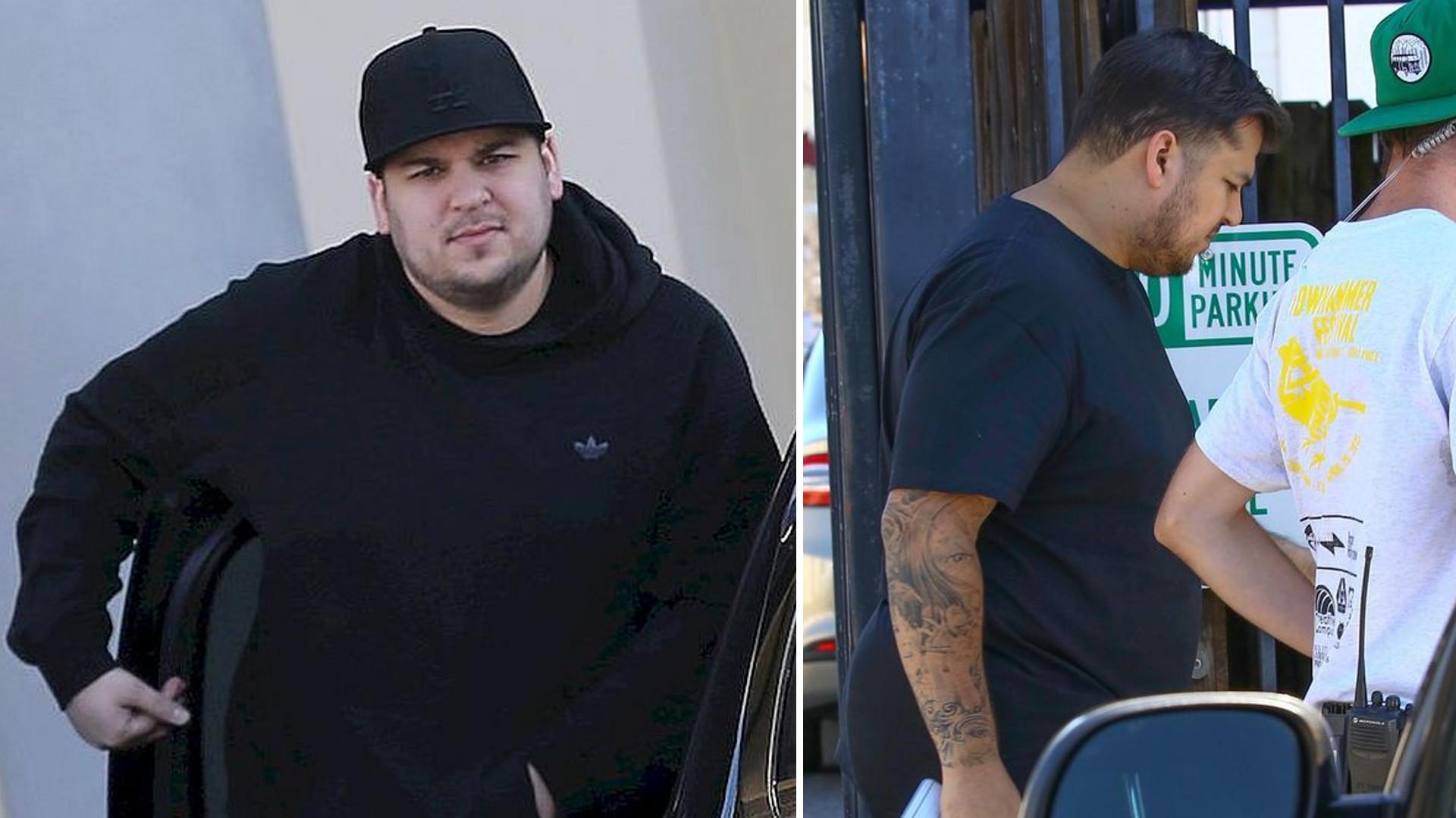 Rob Kardashian w końcu pokazał swoje zdjęcie na Instagramie – widać, że schudł?