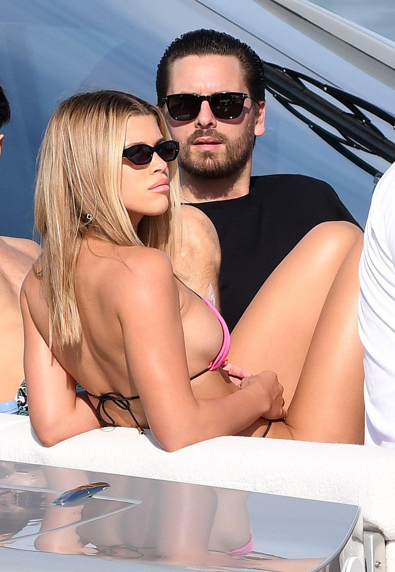 Sofia Richie i Scott Disick w Miami