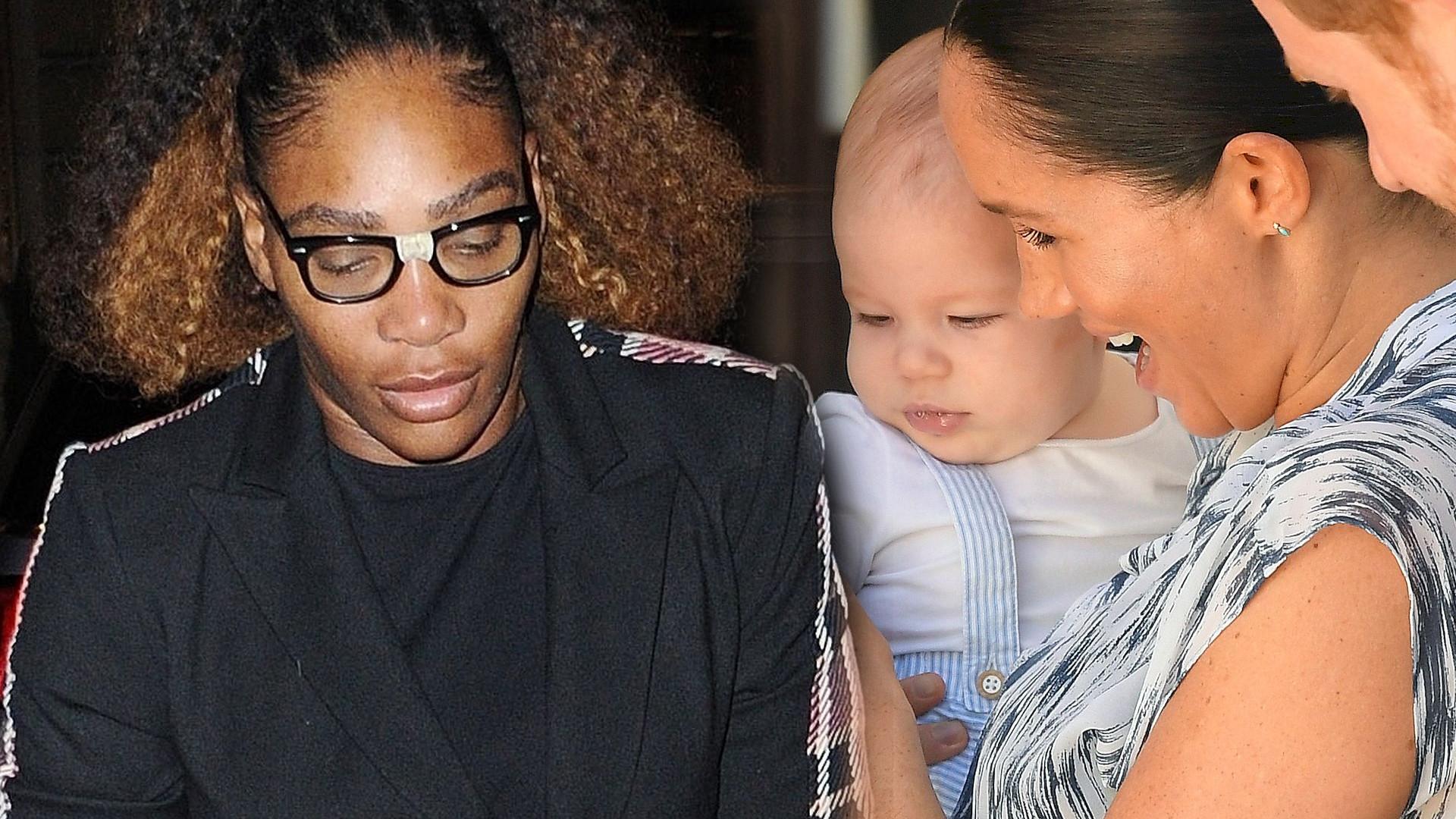 Serena Williams zdradziła TAJEMNICĘ księżnej Meghan dotyczącą Archiego