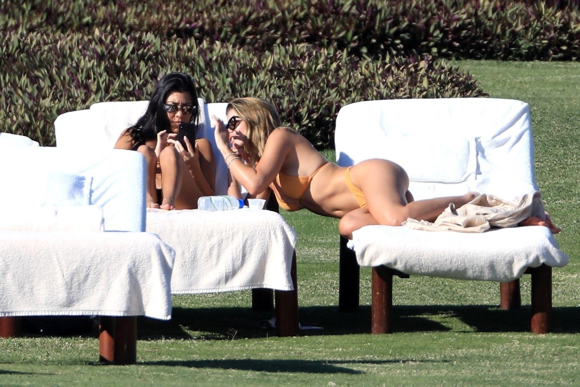 Sofia Richie Kourtney Kardashian
