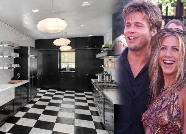 Jennifer Aniston, Brad Pitt i ich dom z czasów gdy byli małżeństwem