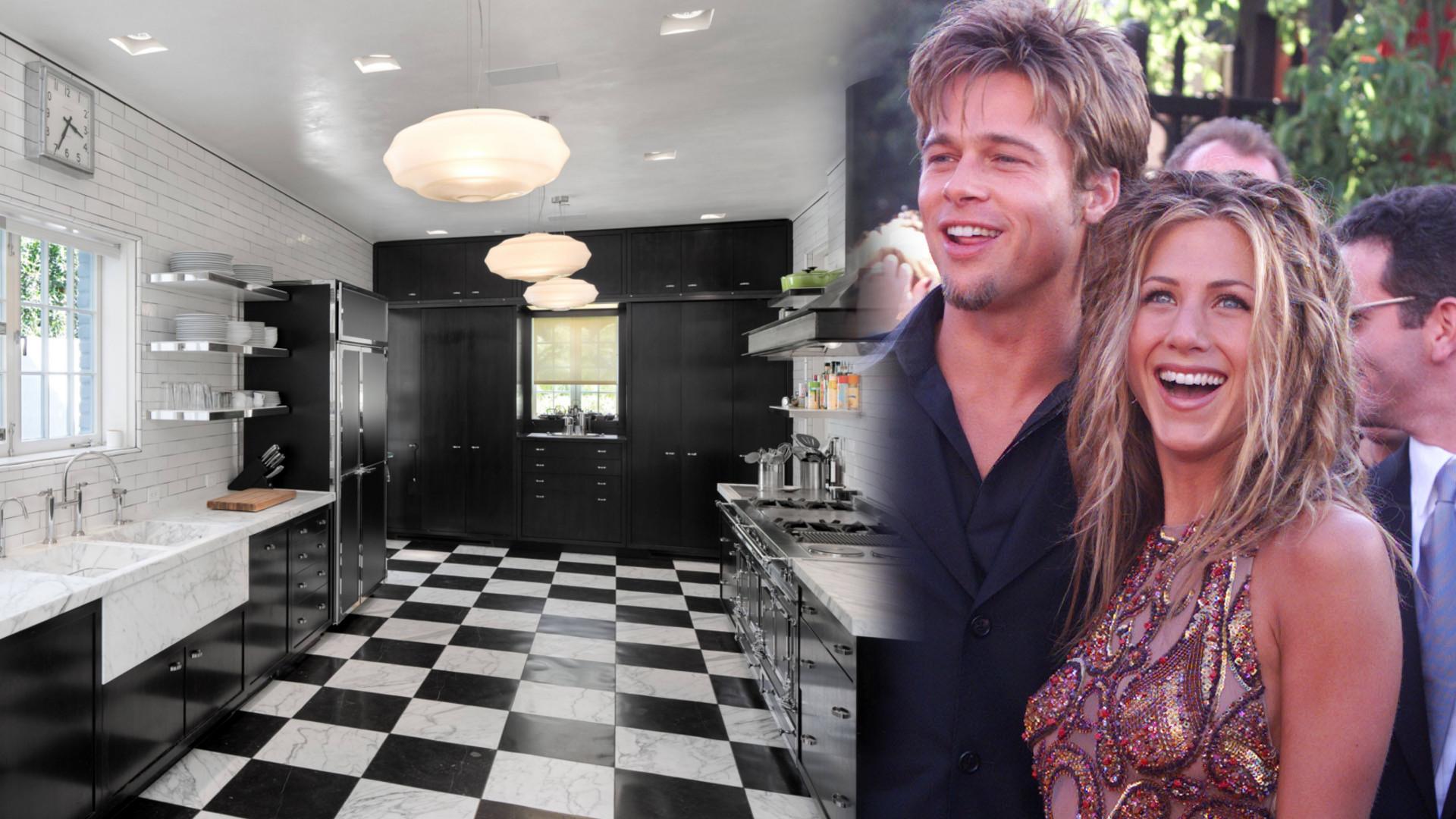 W tej kuchni Jennifer Aniston robiła Bradowi Pittowi jajecznicę i tosty – dom byłych małżonków wystawiono na sprzedaż (ZDJĘCIA)
