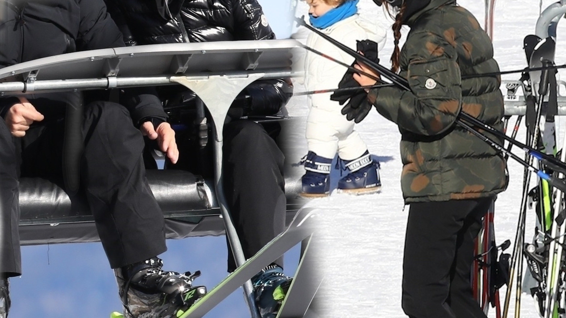Leonardo DiCaprio i Camila Morrone SZALEJĄ na stoku w ASPEN. Całkiem dobrze im to wychodzi