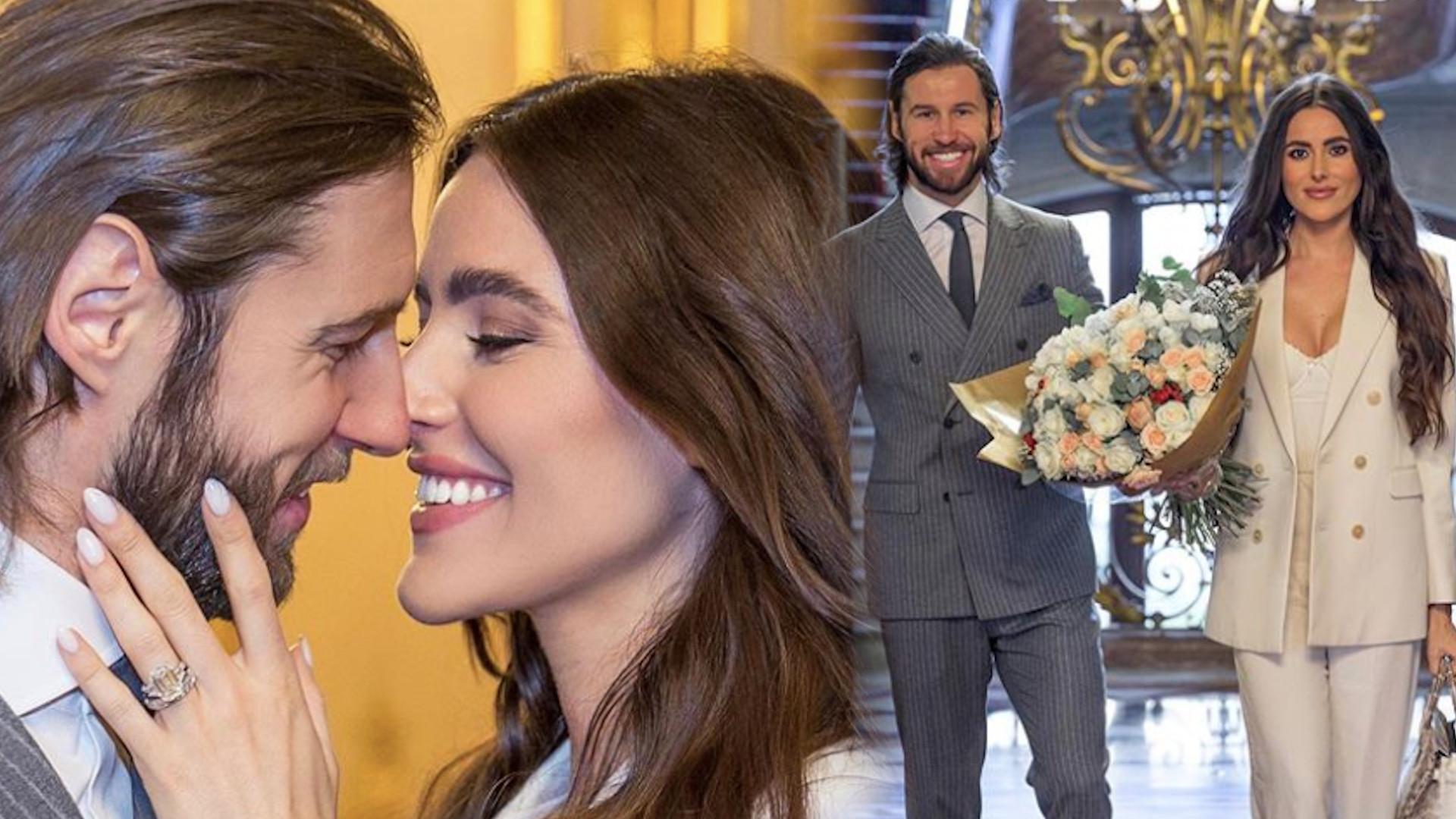 Celia Jaunat pokazała DRUGĄ kreację ślubną. Wyglądała BOSKO!