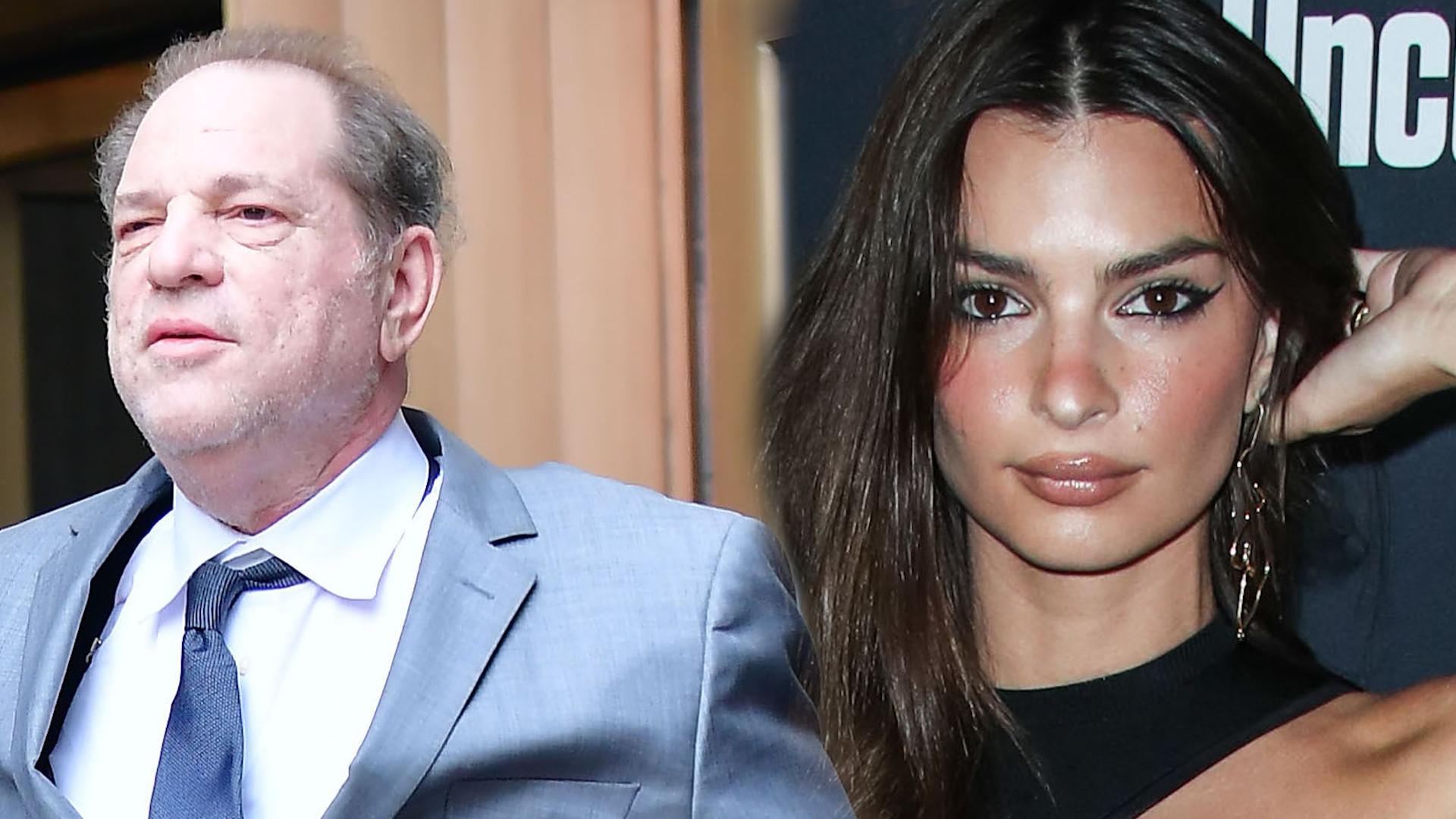Harvey Weinstein zawarł umowę ze swoimi OFIARAMI. Emily Ratajkowski wbiła mu szpilę