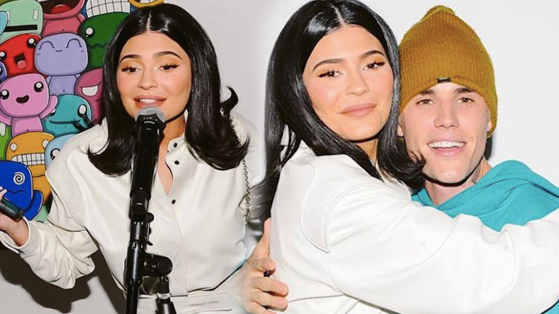 Kylie Jenner śpiewa z Justinem Bieberem. Wiekopomna chwila!