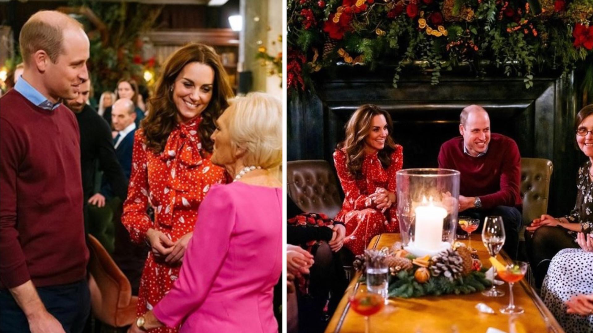 Kate Middleton odtrąca męża. Niezręczne zachowanie w telewizji (WIDEO)