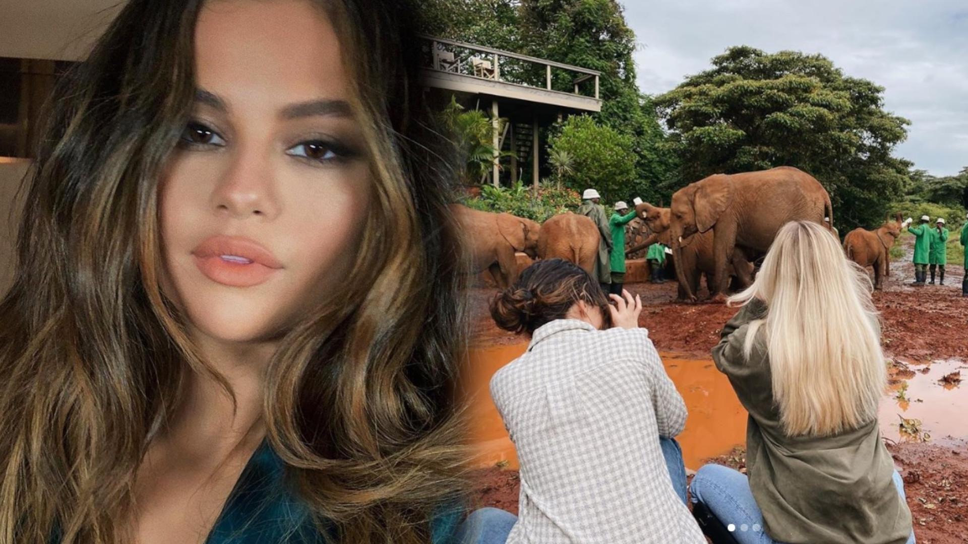 Selena Gomez pokazała wzruszające zdjęcia z TAJNEJ podróży do KENII. Nie wyglądała jak GWIAZDA…