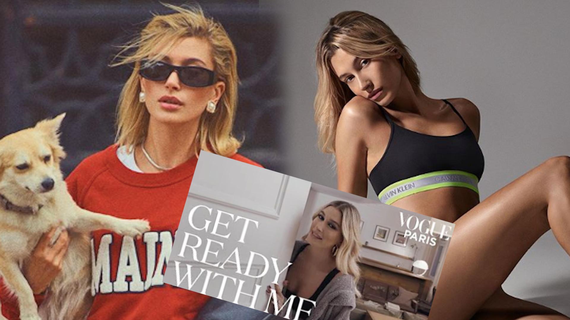Hailey Bieber udzieliła wywiadu dla paryskiego Vogue'a. Poznaliśmy tajemnicę jej dobrego stylu (WIDEO)
