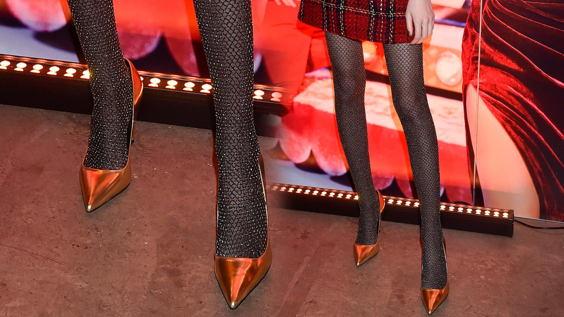 To nie są nogi Anji Rubik, ale można się pomylić! (ZDJĘCIA)