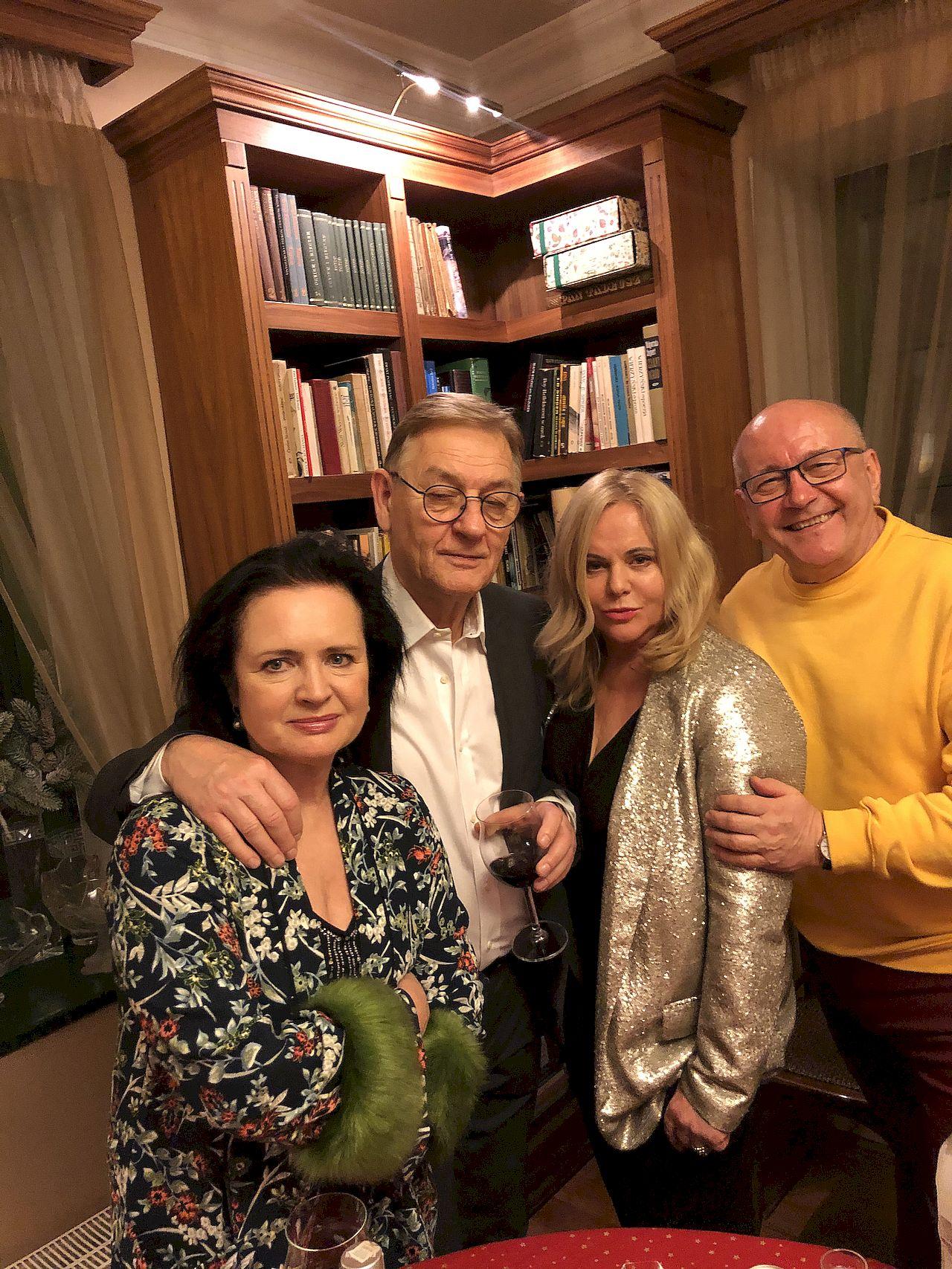 Agata Młynarska, Natalia Kukulska i inne gwiazdy na WIGILII u Anny Jurksztowicz. Zobaczcie jej DOM!