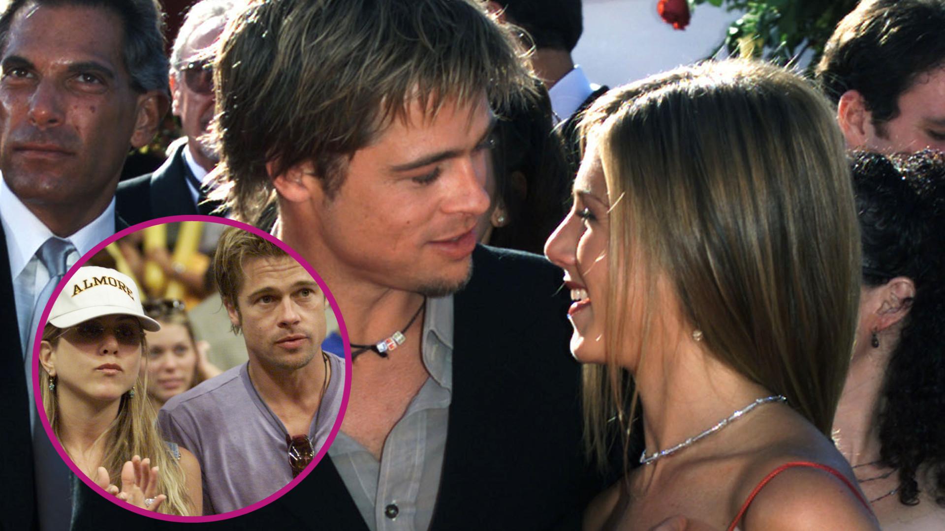 Brad Pitt pojawił się na świątecznym przyjęciu w domu Jennifer Aniston