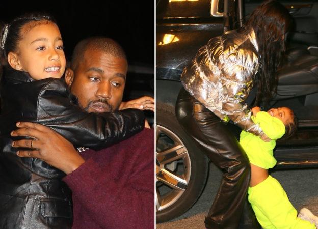 Kardashian Kim Kanye West dzieci g