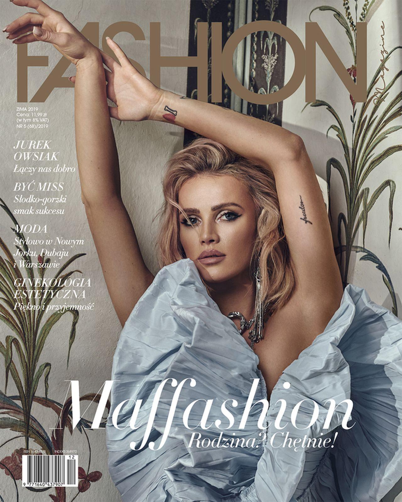 Maffashion w Fashion Magazine zdradziła, że chce mieć TROJE DZIECI (ZDJĘCIA)