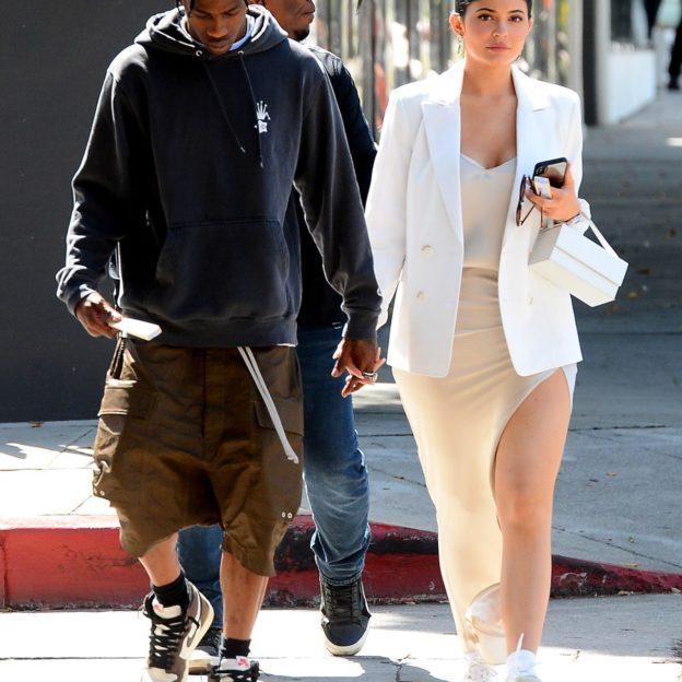 Kylie Jenner,Travis Scott/fot Forum/Mega Agency