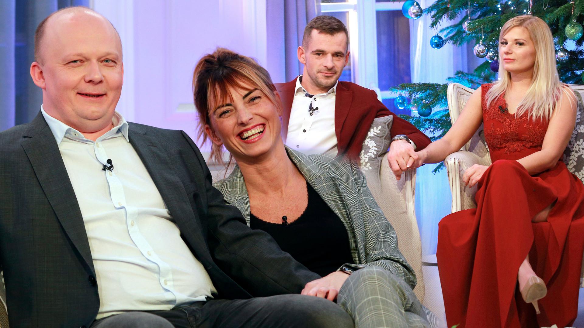 Seweryn, Adrian, Sławomir i Kuba z Rolnik szuka żony w świątecznym odcinku show (ZDJĘCIA)