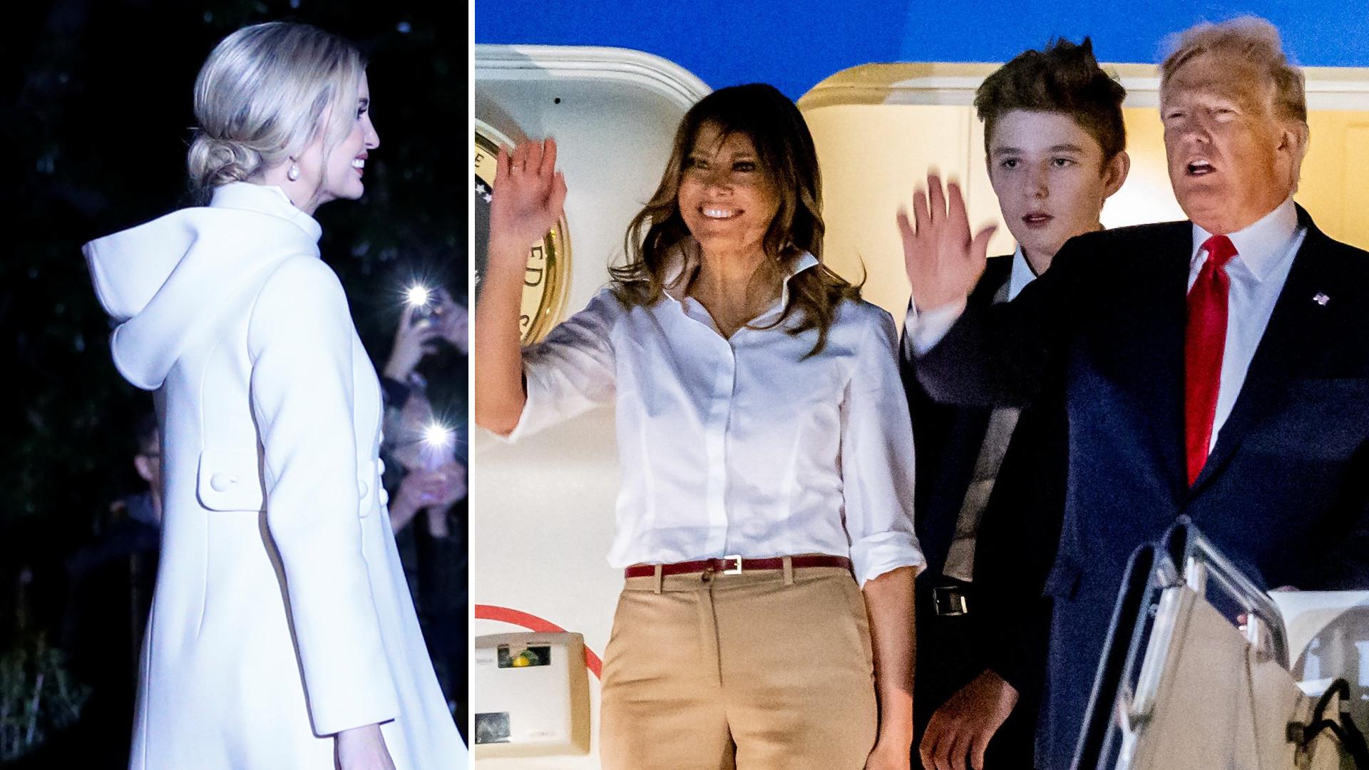 Ivanka czy Melania Trump? Która wyglądała lepiej w zimowej stylizacji? (ZDJĘCIA)