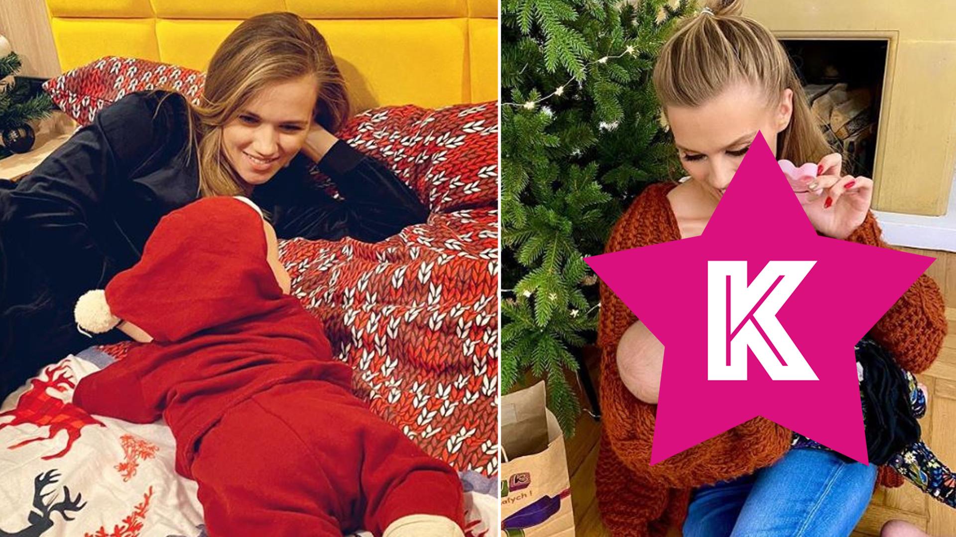 Agnieszka Kaczorowska znowu pokazała twarz córki. Zdradziła, co dziewczynka dostanie od Mikołaja (FOTO)