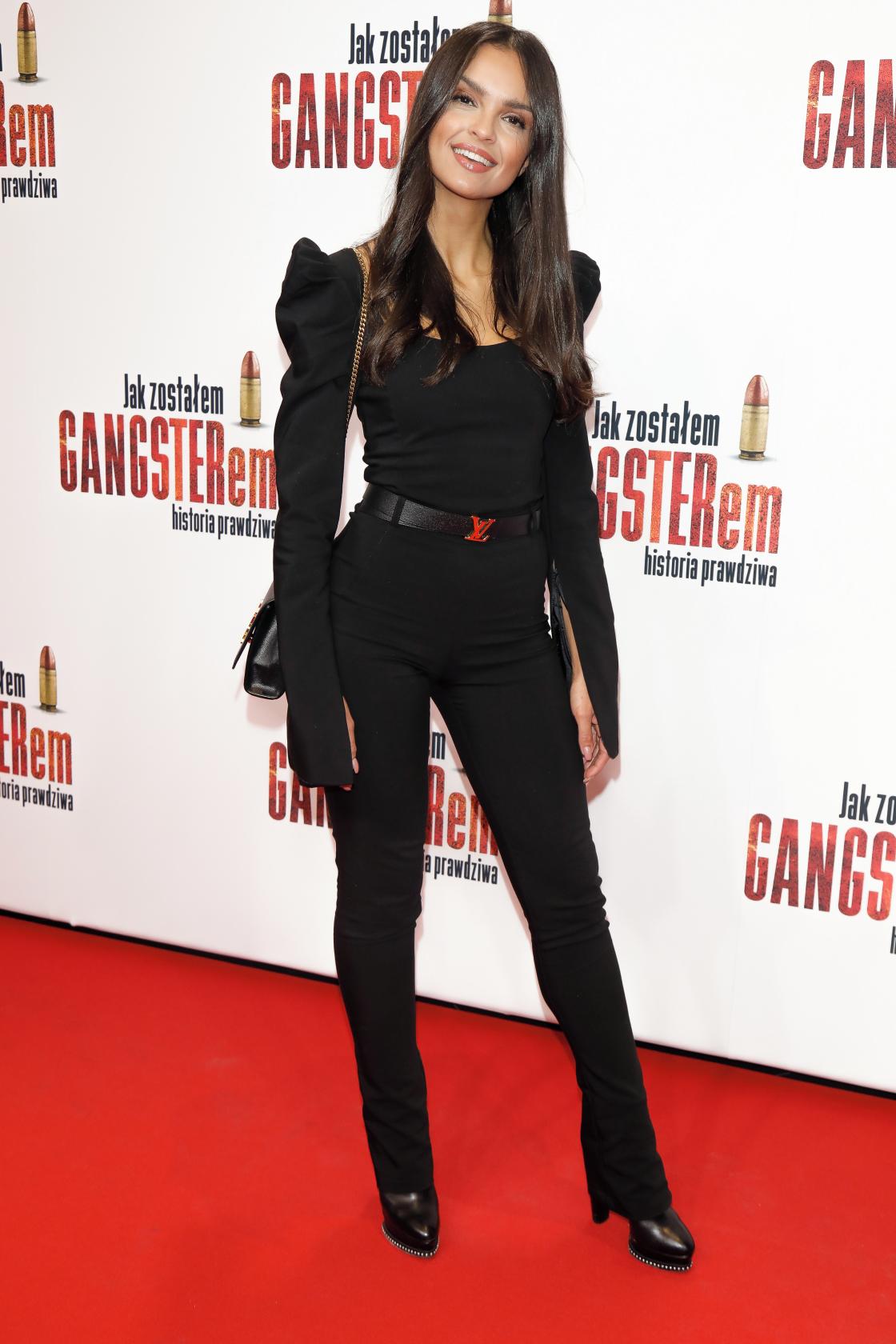 """Klaudia El Dursi na premierze filmu """"Jak zostałem gangsterem"""""""