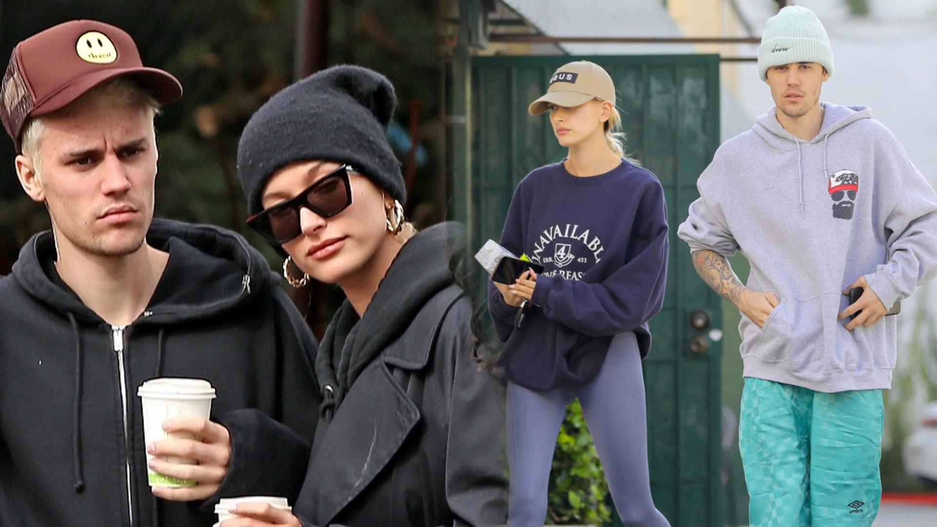 Uduchowiony Justin Bieber zabrał do kościoła swoją żonę i Demi Lovato (FOTO)