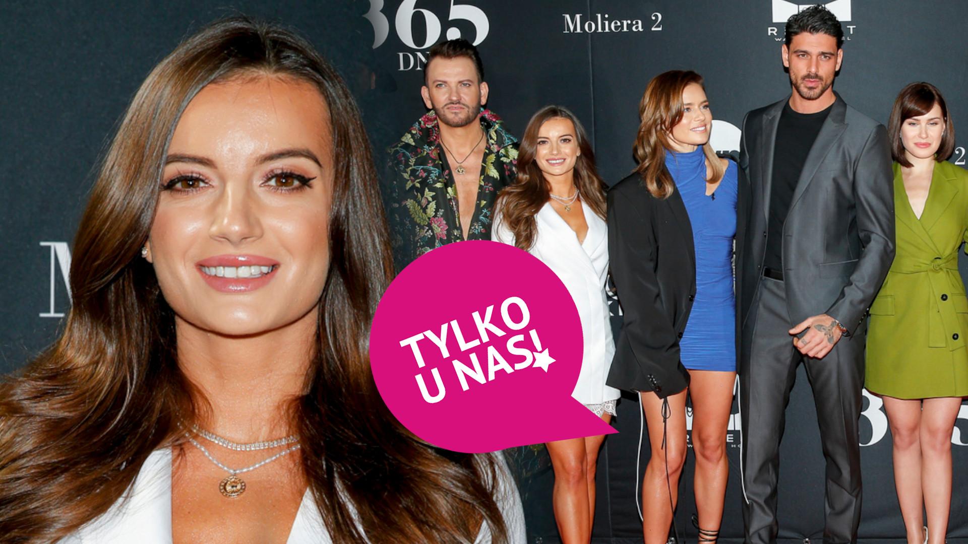 Natalia Janoszek o pracy z Blanką Lipińską na planie 365 dni. Jest bardzo wymagająca!