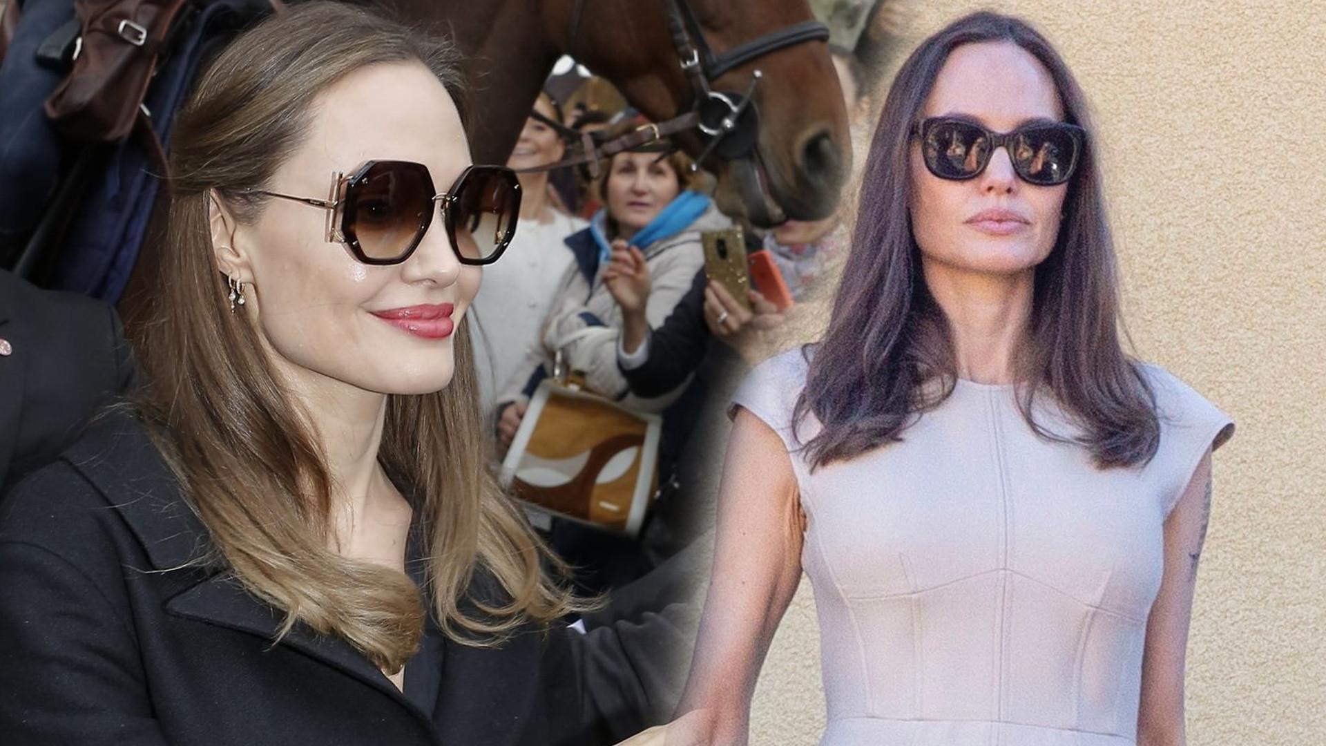 Angelina Jolie zazwyczaj nie robi sobie selfie, ale tej gwieździe pozwoliła na wspólne zdjęcie!