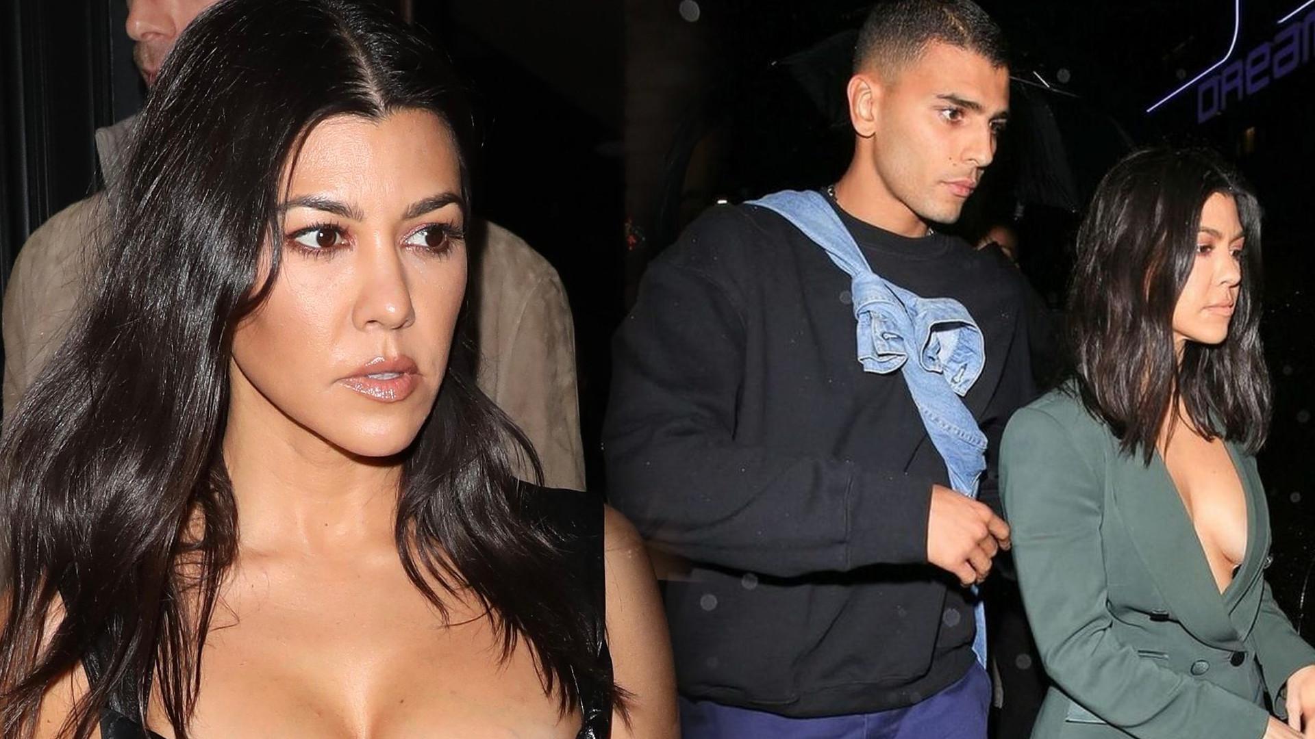 Kourtney Kardashian podgrzewa atmosferę na Instagramie. Zapozowała NAGO w samym futrze!