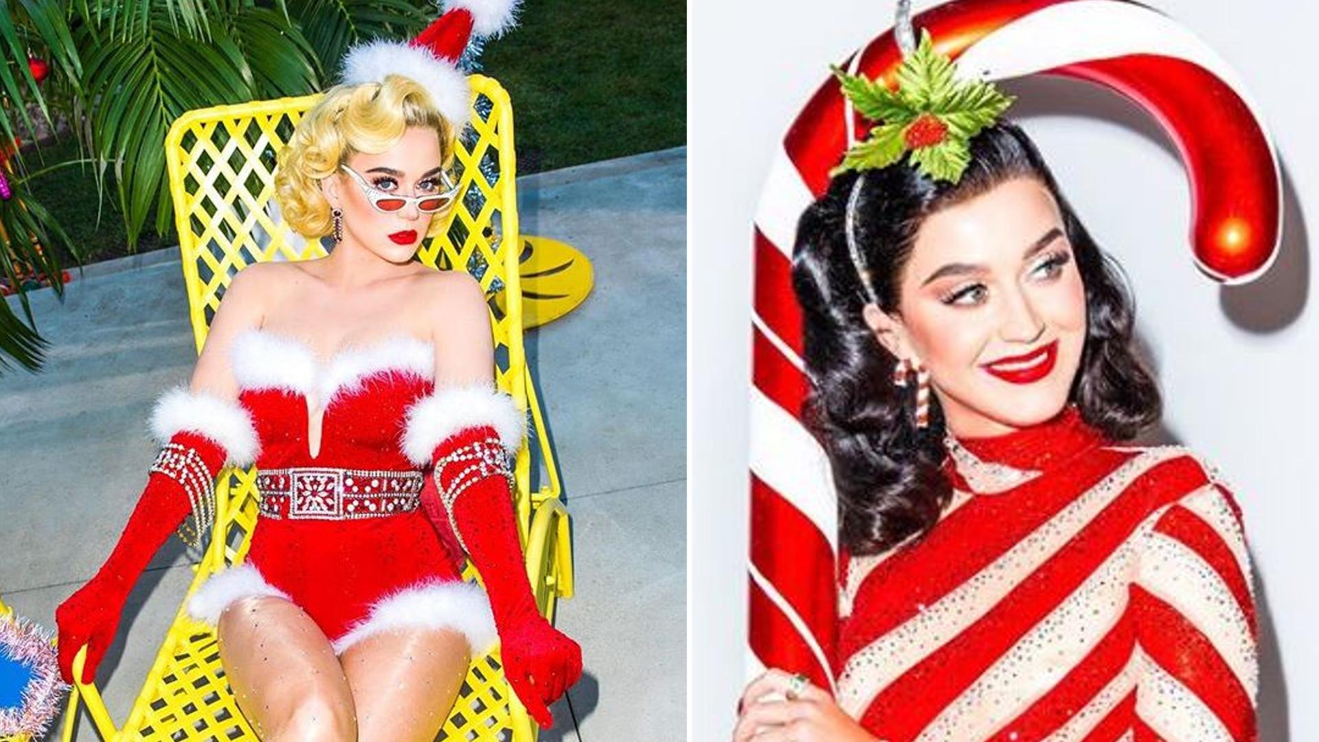 Katy Perry jako seksowna Pani Mikołajowa w najnowszym klipie Świątecznym!