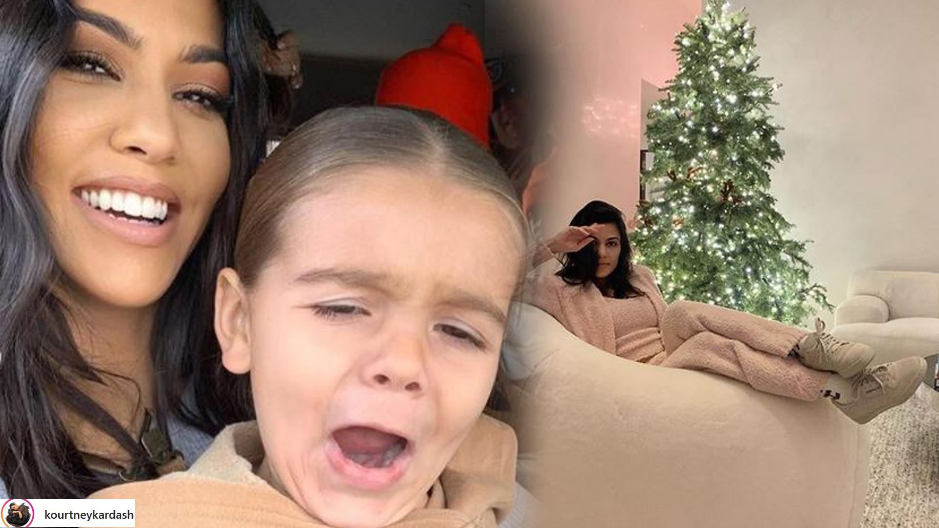 Kourtney Kardashian znalazła pod choinką NAJSŁODSZY prezent