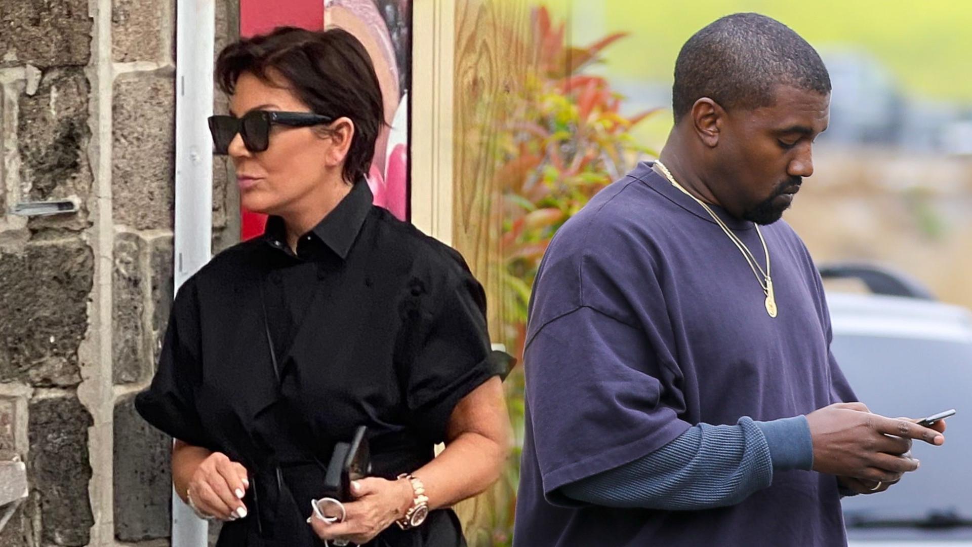 Kris Jenner pokazała się w nowych butach Yeezy. Ten model ZASKAKUJE (ZDJĘCIA)