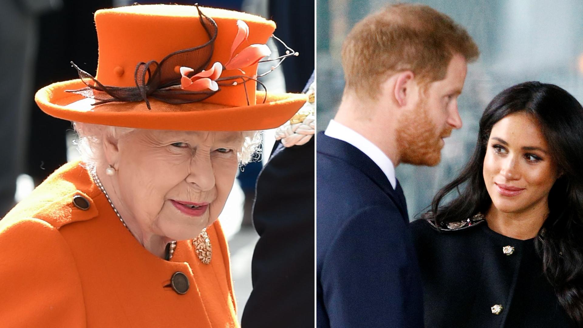 Świąteczne zdjęcie Królowej Elżbiety wywołało BURZĘ – publicznie upokorzyła Meghan i Harry'ego