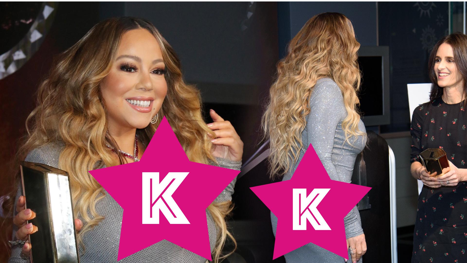 Świąteczna Mariah Carey nadal w formie. Diva postanowiła SKOPIOWAĆ styl Kim Kardashian!