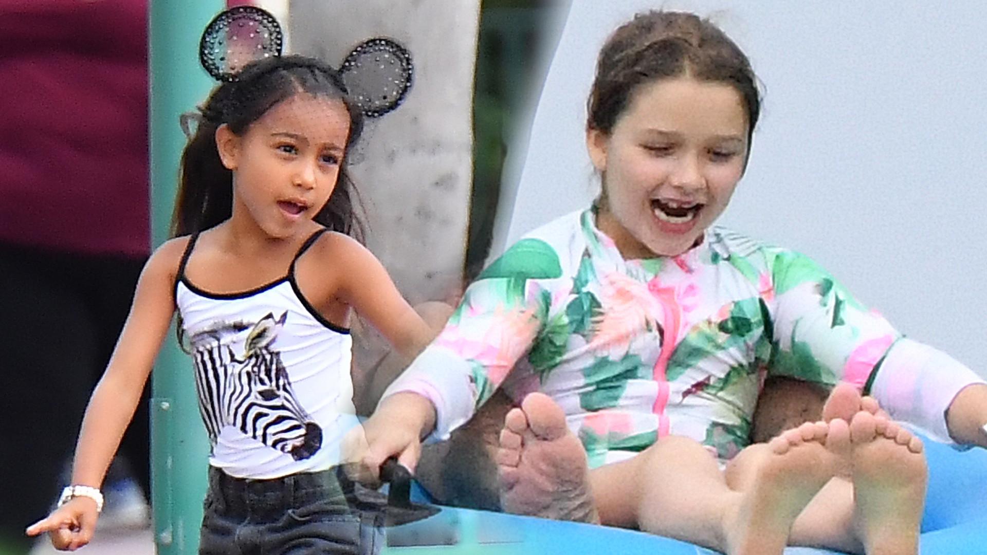I tym właśnie córka Victorii Beckham różni się od córki Kardashianki