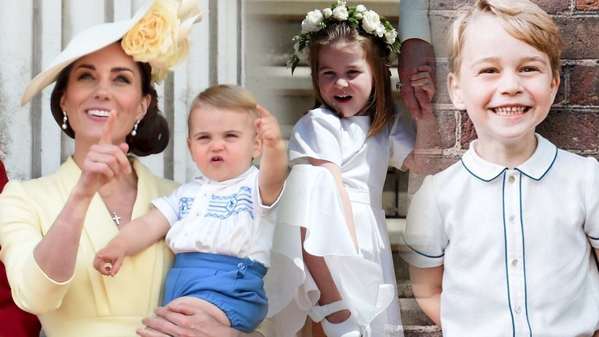 Nowe zdjęcie George'a, Charlotte i Louisa PODBIJA internet